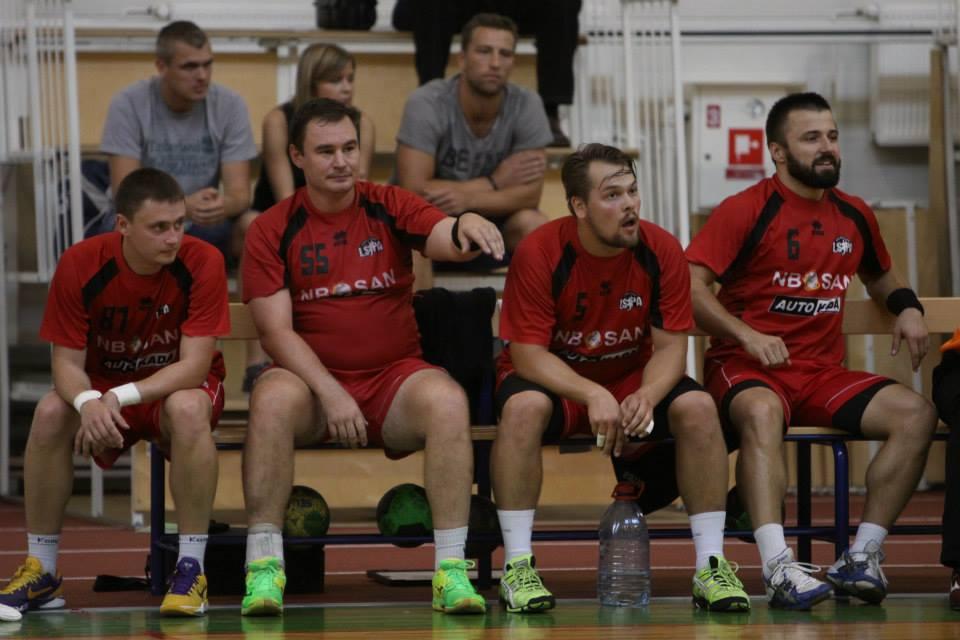 Vladimirs Maslaks, Normunds Blome, Roberts Freibergs, Lauris Eglītis (Foto: Sandra Škutāne)