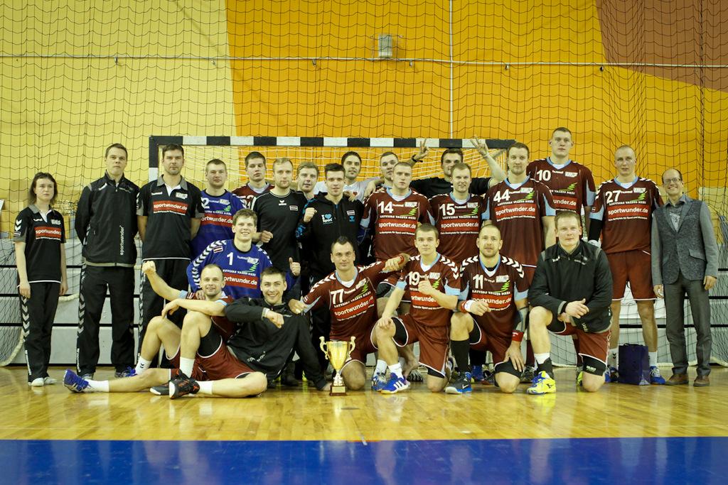 Latvijas izlase Rīgas Domes kausā (Foto: Helmust Tihanovs)