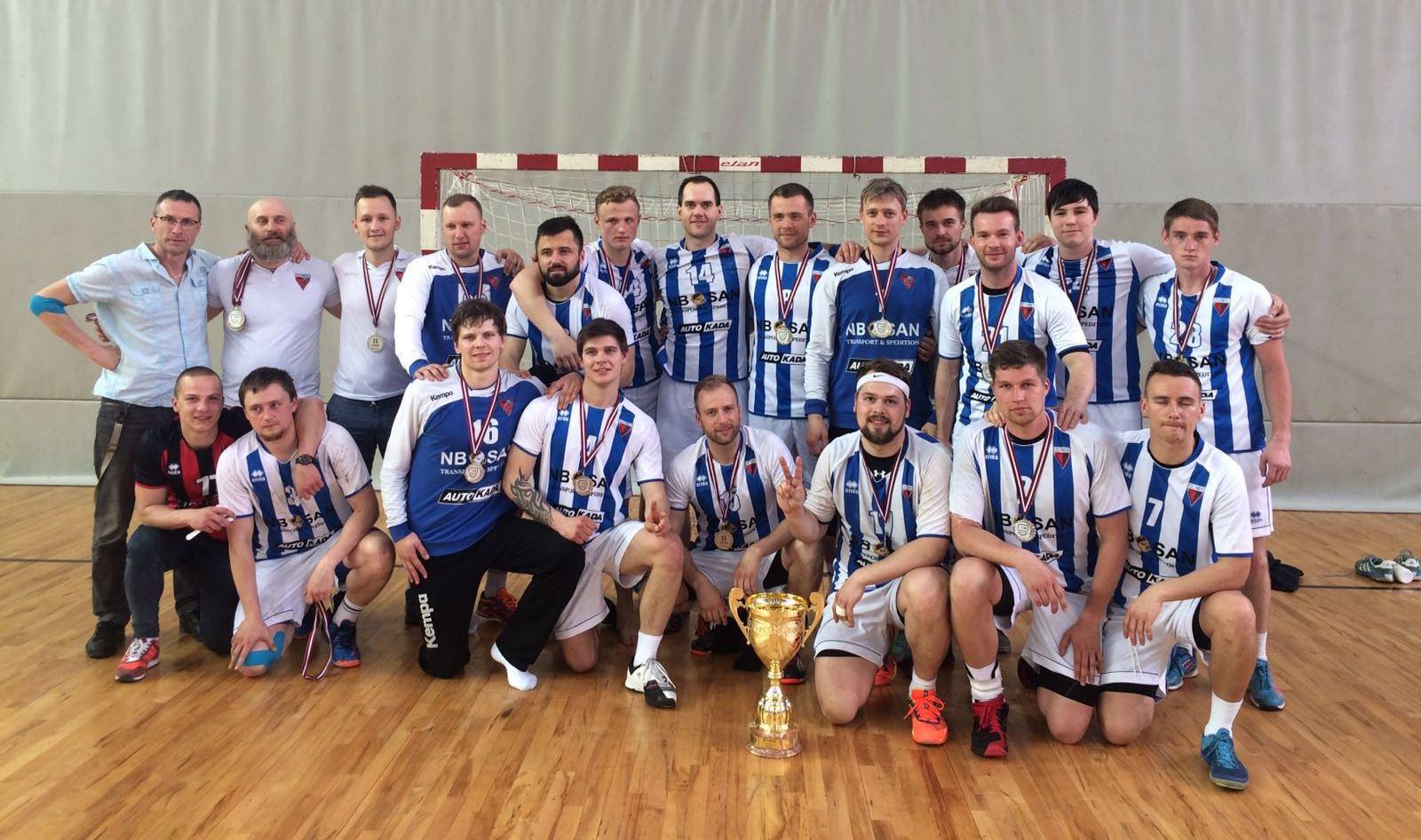Celtnieks Rīga - 2016. gada Latvijas Vicečempioni handbolā