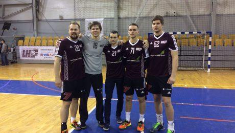 Roberts Freibergs, Raitis Puriņš, Igors Ignatjevs, Rihards Leja un Artūrs Lazdiņš