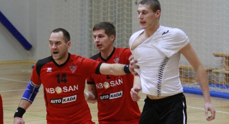 Guntars Lejnieks un Artūrs Lazdiņš (Foto: Sandra Škutāne)