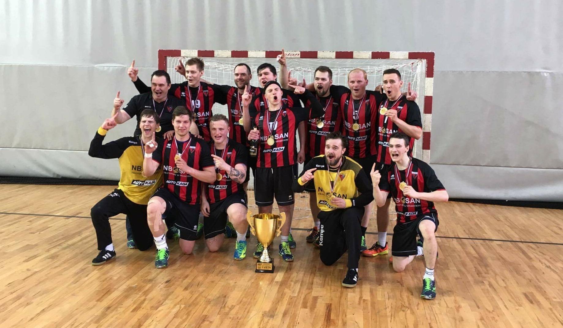 Celtnieks Rīga - Latvijas čempioni handbolā 2017