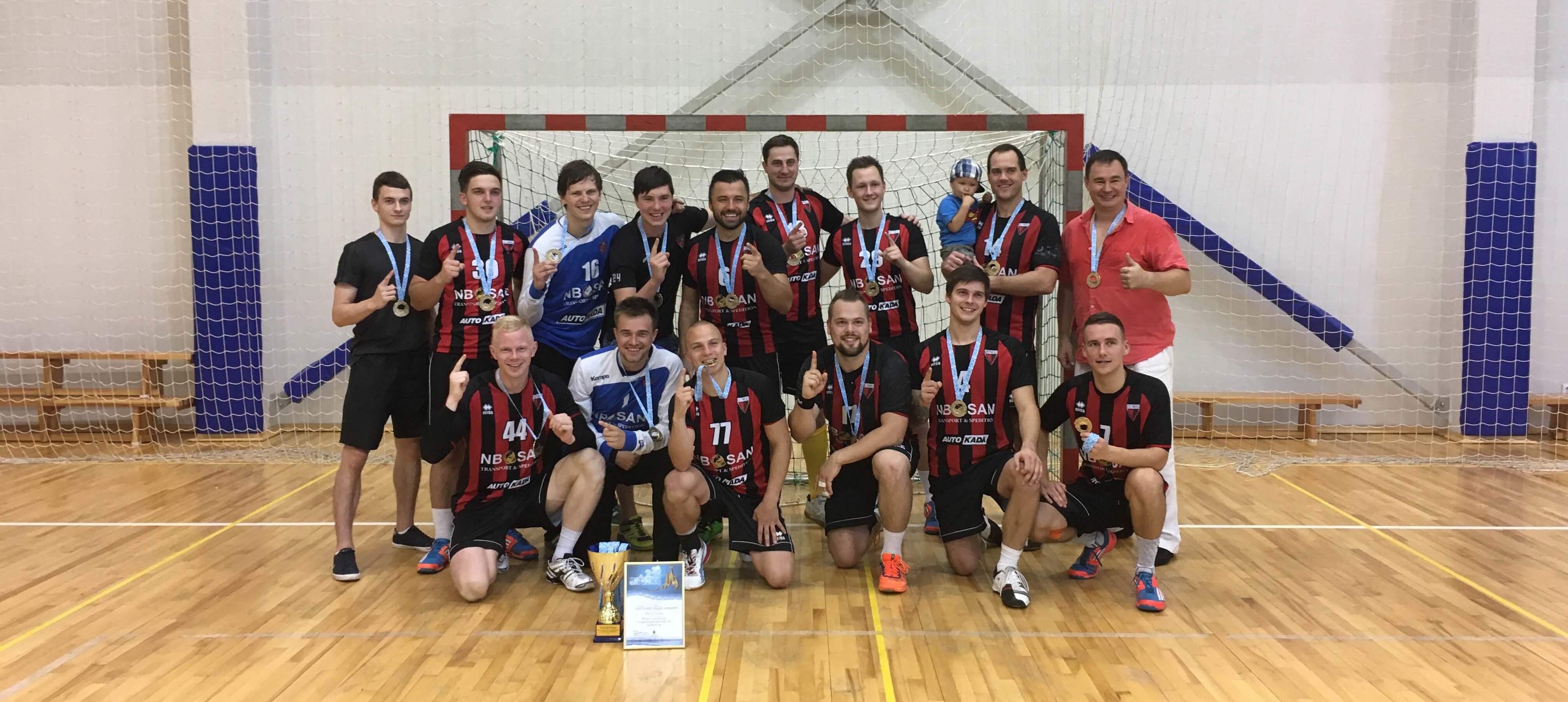 Celtnieks Rīga - Rīgas handbola čempioni 2016