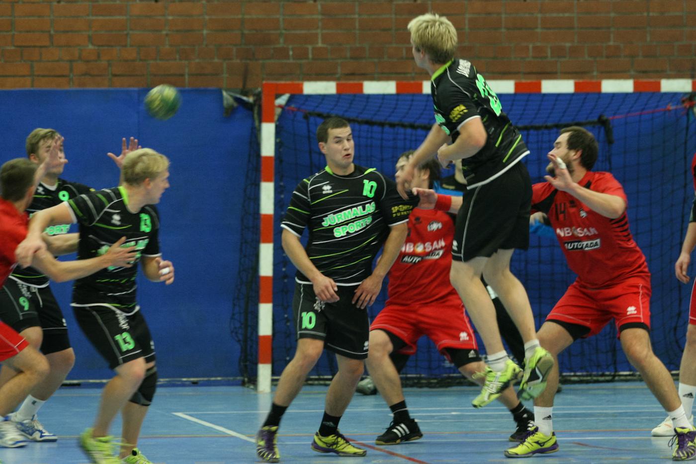 Celtnieks/LSPA - Jūrmalas Sports (Foto: Helmuts Tihanovs)