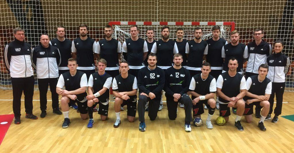 Latvijas handbola izlase Vācijā