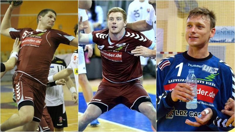 Artūrs Lazdiņš, Einārs Kiršteins un Helmuts Tihanovs