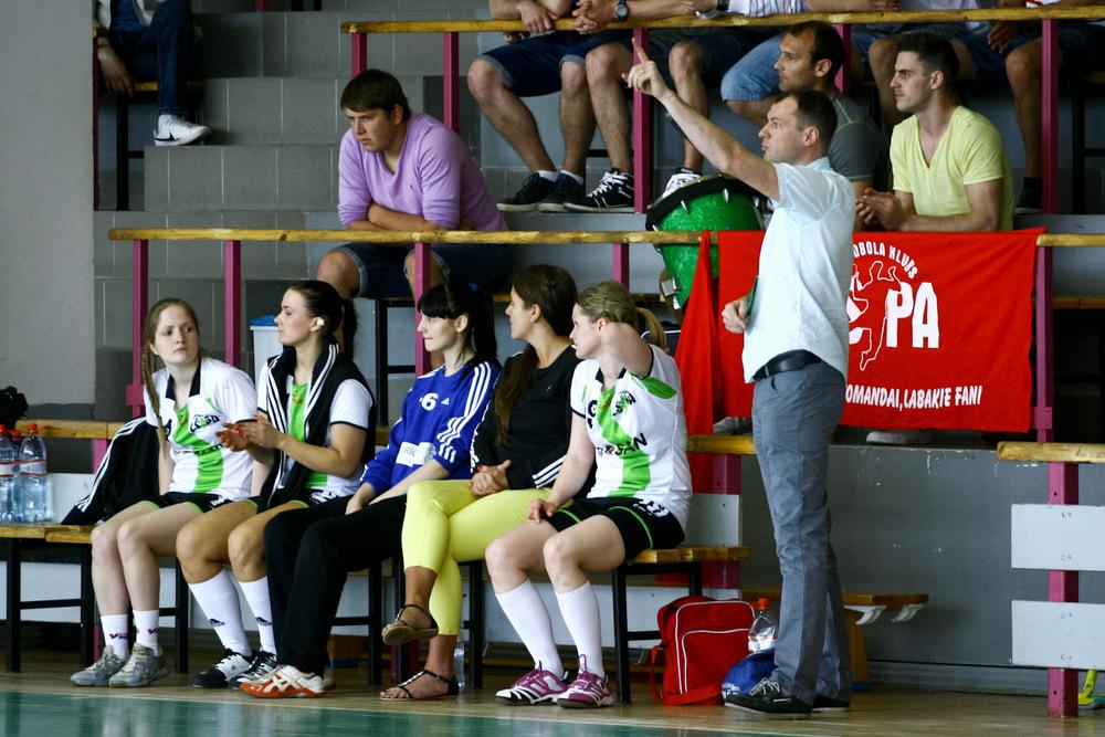 LSPA handbolistes (Foto: Helmuts Tihanovs)