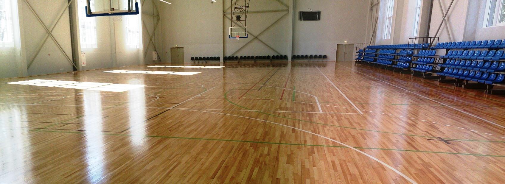 O.Kalpaka Rīgas Tautas daiļamatu pamatskolas sporta zāle
