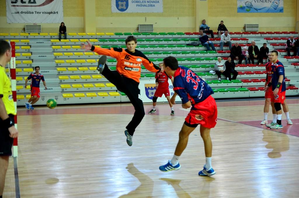 Raitis Puriņš (Foto: handbols-dobele.lv