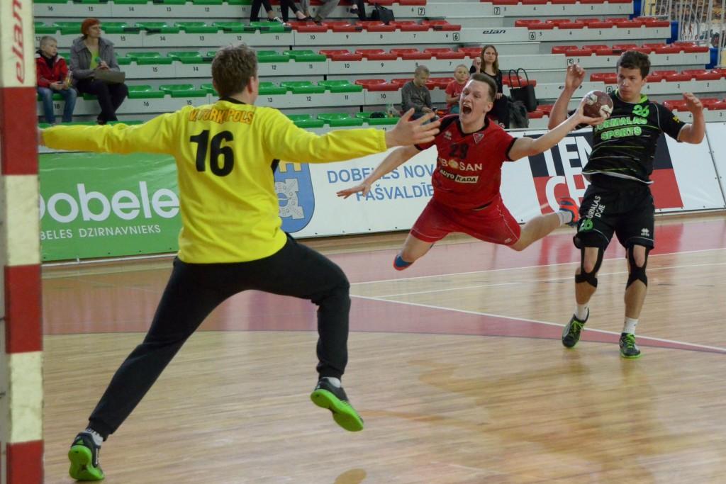 Ričards Jablonskis (Foto: handbols-dobele.lv