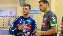 Helmuts Tihanovs un Valdis Labanovskis (Foto: Juris Bērziņš-Soms)